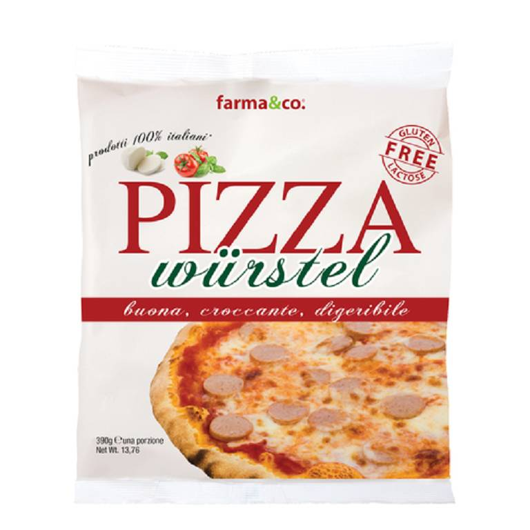 FARMA&CO PIZZA WURSTEL 390G