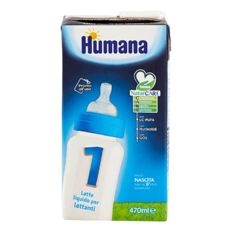 HUMANA 1 LCP+GOS+NUCL 12X470ML