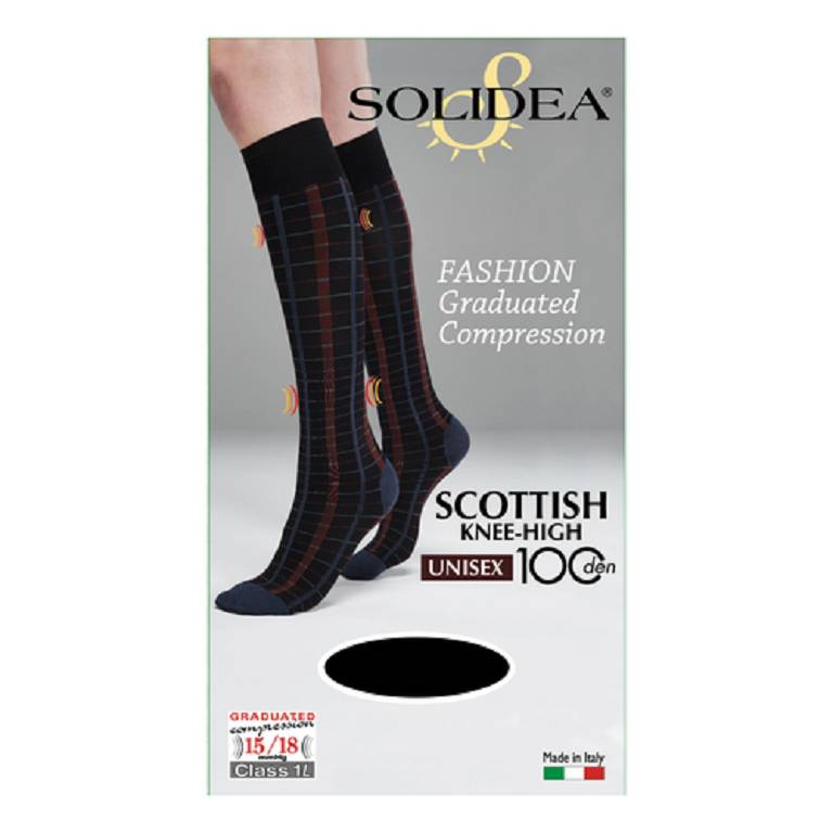 SCOTTISH KNEE-HIGH 100 BL N L