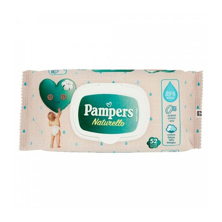 WIPES PAMPERS NATURELLO 52SALV